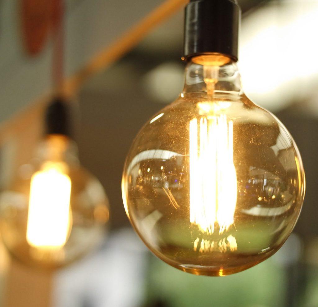 Energiespar Glühbirnen Lichterkette LED Nachhaltig Wohnen
