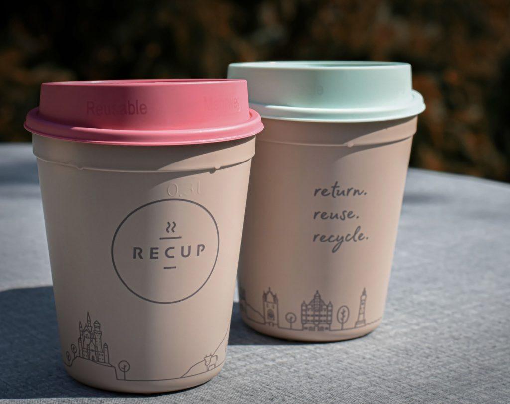 Umweltfreundliche Kaffee 2go Becher